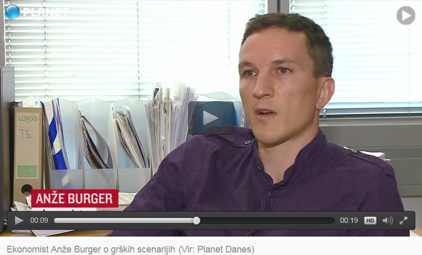 Anze Burger, Planet Danes, 7.7.2015